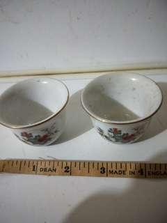 Porcelain cup(2 pcs)