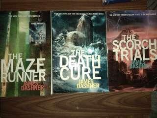 James Dashner: Maze Runner Trilogy