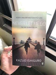 Never let me go by kazuo ishiguro book storybook