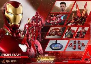 Hot toys iron man mk50首日單