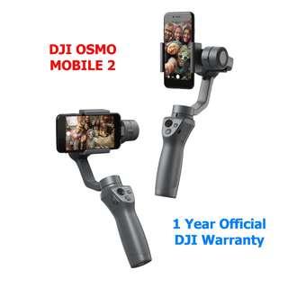 🚚 DJI Osmo Mobile 2 3-Axis Gimbal for Smartphone (Free Mini Tripod)