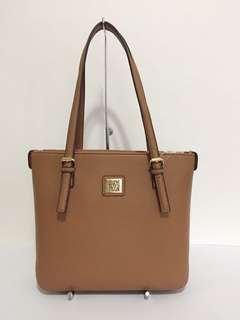 ANNE KLEIN TAN PERFECT TOTE BAG AUTHENTIC $69