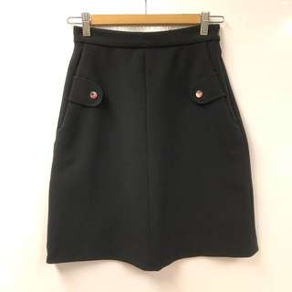 Carven black skirt size 34