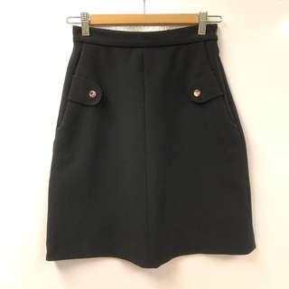 Carven black skirt size 34