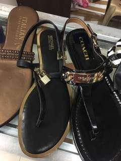 MK and Coach Sandals