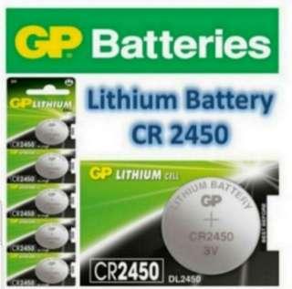 CR 2450 Coin Battery