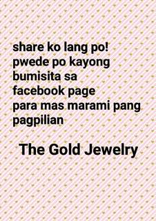 The Gold Jewelry