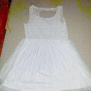 White Dress From Ardene