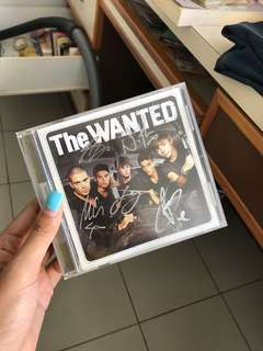 The Wanted Autographed Album