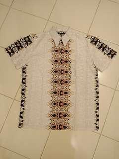 (Preloved) Kemeja Batik Cowok