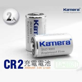 佳美能 CR2 鋰電池 2入 CR15270 可重複充電 拍立得Mini25 70 MP70 相印機 保固1年