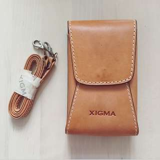 罕有皮袋 Vintage Leather Bag * XIGMA for Handspring Visor series & Visor Prism connected organizer