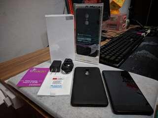 Xiaomi Redmi Note 4 SD625 3/32GB (Fullset + 2 Case) Fisik 99,9% Mulus