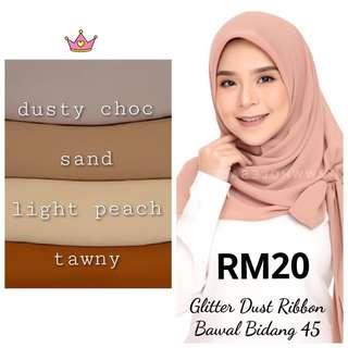 Glitter Dust Ribbon Bawal 45