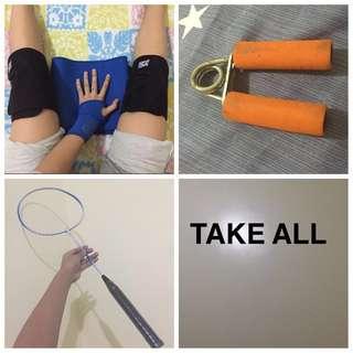 TAKE ALL sporty bundles n freebies