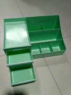 Mint green Makeup Storage Box