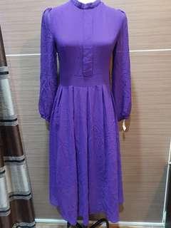 Violet Dress S-M