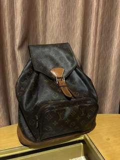Preloved LV backpack Montsouris vintage