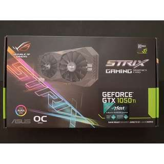 ROG STRIX-GTX1050TI-O4G-GAMING (Geforce GTX 1050 TI)