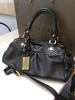 Marc by Marc Jacobs Baby Groove Satchel leather handbag #midyearsale