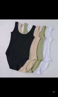 🚚 #全館五折🔥全新🔥🔥 Black Bodysuit 連體衣