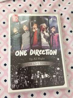 One Direction up all night the live tour dvd
