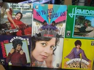 70's Malay popular Artiste EP. 4 EP'S For $120.