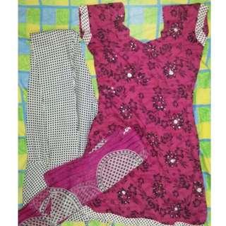 BN Indian punjabi suit-3 piece