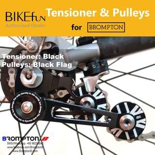 BIKEfun Chain Tensioner & Pulleys (for 2/6-speed Bromptons)