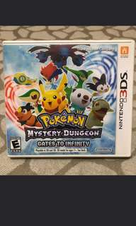 3DS Pokemon Mystery Dungeon (Gate To Infinity)