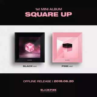 <<代購>> Blackpink - Square Up (Black/ Pink Ver.)