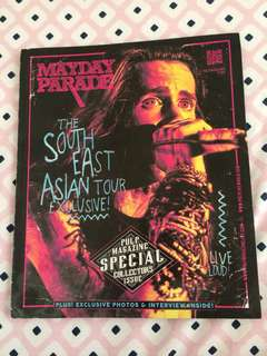 Mayday Parade: southeast asian tour pulp magazine exclusive