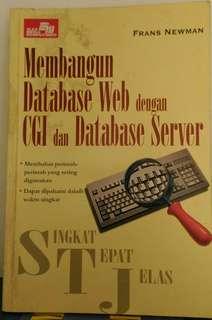 Buku : Membangun Database Web dengan CGI dan Database Server