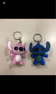 Sitch and angel key chain