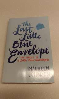 The Lost Little Blue Envelope by Maureen Johnson