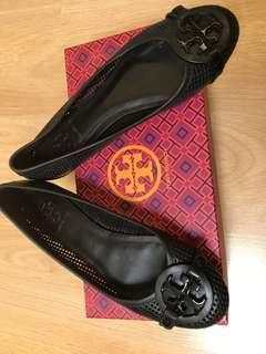 Tory Burch 黑色平底鞋flats