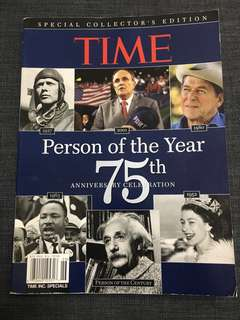 TIME person of the year 75th anniversary celebration special collector's edition