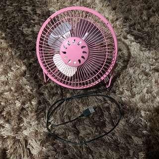 Baby Pink USB Fan