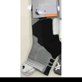Nike Hyper Elite Socks-white , black, gray