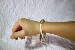 Brand new white Fossil bracelet