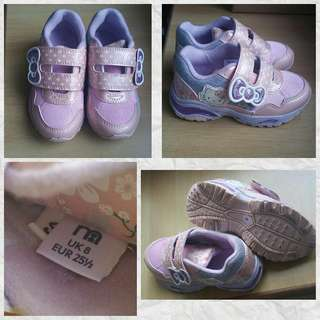 Hello Kitty Shoes (Mothercare) Size 8 / 22.5