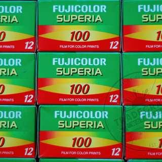 Expired 35mm Film: Fuji Superia 100 12 shots
