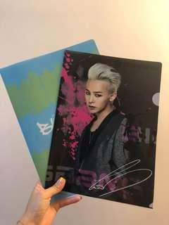 Big Bang 日本2013limited edition File 2個