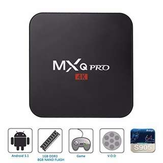MXQ PRO 4K Andriod 5.1 TV Box
