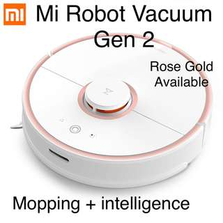 Gen 2 xiaomi Roboot vacume cleaner smart vacume with mopping function