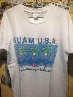 kaos vintage guam hawaii