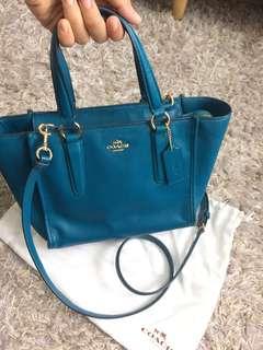 Coach Colour-Block Shoulder Bag Women Bag #Reduced