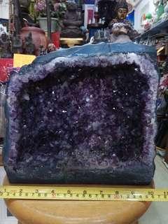 天然紫水晶洞