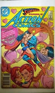 DC COMICS ACTION COMICS #568