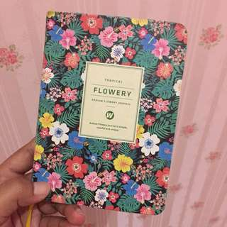 Tropical Flowery Journal